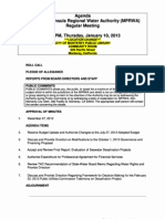 MPRWA Regular Meeting Agenda Packet 01-10-13