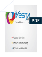 "MANAGERIAL ACCOUNTING REPORT- ""Cost and Value Chain Analysis of Vesta Apparels"""
