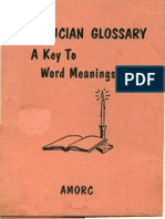 Glossary Rosicrucian