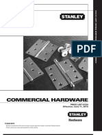 Stanley Commerical Hardware 6_12