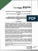 Convocatoria 596 de Colciencias - Ideación, Prototipado y Validación -