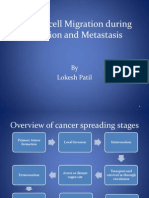Cancer Cell mechanics during Invasion and Metastasis.