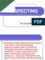 prospecting
