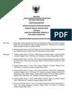 Peraturan Menpan No. 62 Tahun 2005