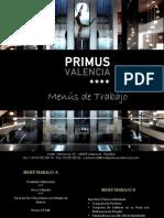 MENUS DE TRABAJO PRIMUS VALENCIA (ES)