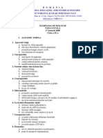 2009 Biologie Etapa Locala Subiecte Clasa a IX-A 0