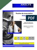 01. Faire Sont Programme Personnel - Routine de Musculation 3 Jours Par Semaine