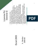 Tutorial Excel 2003