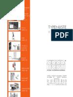 Mueller Design Typenliste 2012 Gesamt