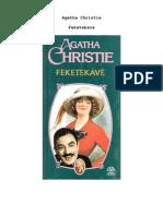 Agatha Christie - Feketekávé
