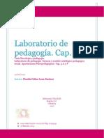 Laboratorio de pedagogía.