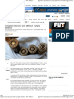 09-01-13 Congreso mexicano pide a EUA un registro balístico