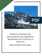 James Peak proposal (be waware)