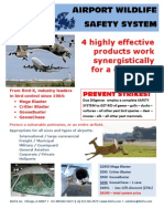 Airport Bird Control System by Bird-X