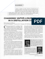 Changing Vapour-Liquid Traffic