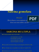 Sarcina Gemelara (Curs)