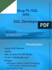 Debug With PL/SQL