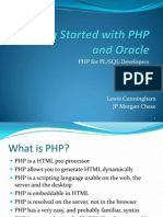 Getting Started with PHP and Oracle
