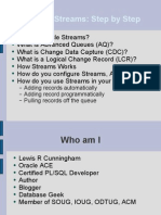 Oracle Streams Step By Step