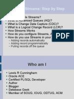 Oracle Streams Step By Step