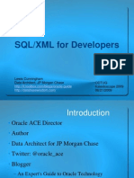 SQL XML For Developers