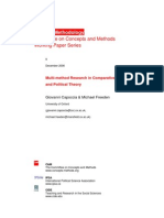 Multi Method Research