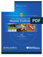 Human Trafficking 2012 Annual Report