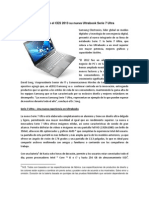 Samsung Presenta en El CES 2013 Su Nueva Ultrabook Serie 7 Ultra