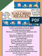 Temarios 1 Al 5 Valores Reales