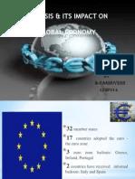 Euro crisis and its impact on Global Economy