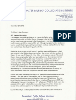 Flaherty Reference Letter