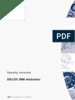 Delcos 3000 manual de instrucciones del procesador