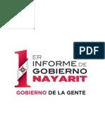 Gobernabilidad - Primer Informe del Gobierno de la Gente