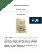 Evangelhos Apócrifos - Narração do Dilúvio da Epopéia de Gilgamesk