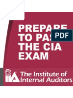 CIA (USA) IIA Pass in First Attempt - Reality