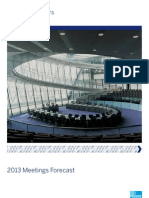 2013 Meetings Forecast AMEX