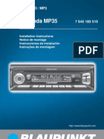 Manual BLAUPUNKT BERMUDA MP35