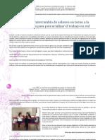 Segundo y tercer taller de intercambio de saberes en torno a la incidencia política para potencializar el trabajo en red