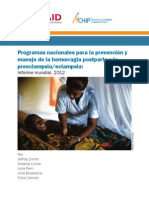 2012 Progress Report_Spanish