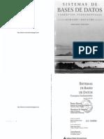 Sistemas de Bases de Datos - 2da Edición - Ramez Elmasri & Shamkant B. Navathe