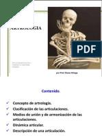 Presentacion de Artrologia