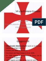 Unidad 6 Gregorio VII y la Primera Cruzada - Víctor Céspedes