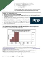 New York Flu Report
