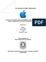A Strategic Analysis of Apple Corporation