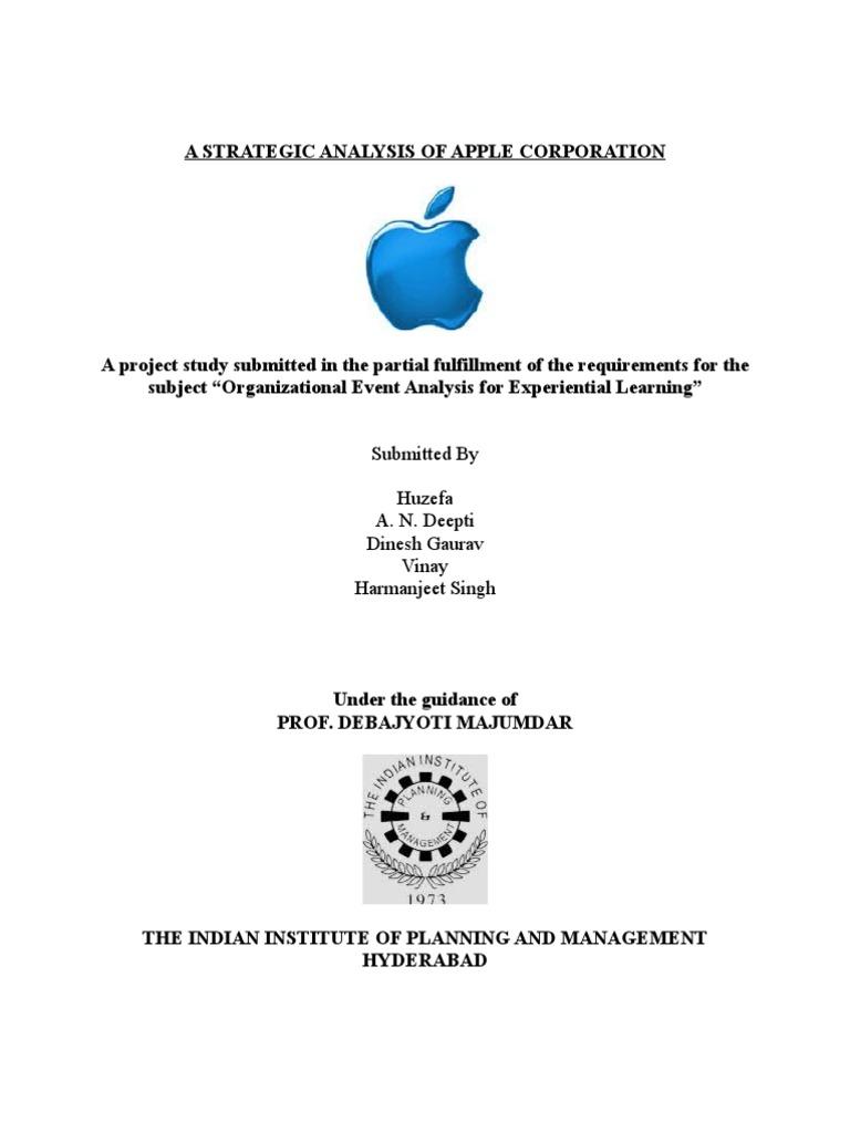 apple inc case study analysis