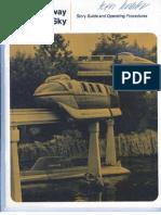 Disneyland Monorail Operator Guide