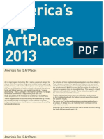 America's Top Art Places 2013
