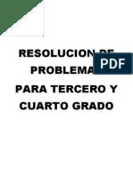resolucion de problemas 3o y 4o