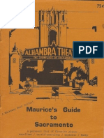 Maurice's Guide To Sacramento 1978 Edition