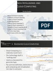Business Intelligence and Cloud Computing